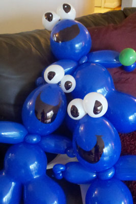 Cookie Monster Balloons